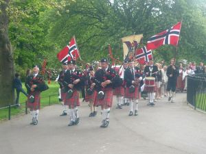 Norwegian Day 17th May in Edinburgh 2014