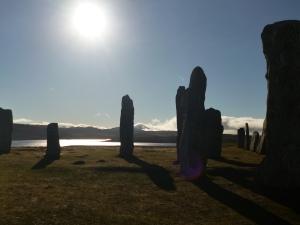 Callanish Stones, Isle of Lewis. Photo by Maureen Millward.