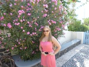 Me in Santorini